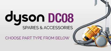 Dyson DC08 Spare Parts & Accessories